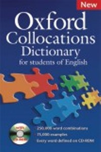 Oxford Collocations Dictionary 2nd Ed + CD-ROM Pack