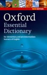 Oxford Essential Dictionary 2nd Ed