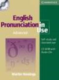English Pronunciation in Use Advanced self-study pack + CD-ROM