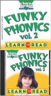 Funky Phonics 2 Learn to read Book + CD
