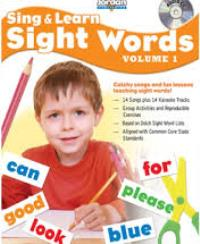 Learning Sight Words 1 Resource Book