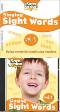 Learning Sight Words 1 Book + CD