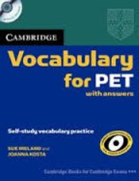 Vocabulary for PET + CD