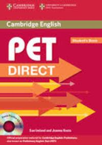 PET Direct Student's Book + CD-ROM