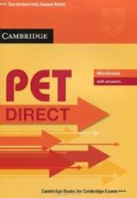 PET Direct Workbook + key