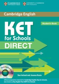 KET for Schools Direct Student's Book + CD-ROM