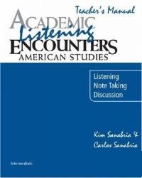 Academic Encounters American Studies Listening Teacher's Manual