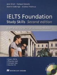 IELTS Foundation Second Edition Study Skills + Audio CD