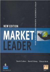 Market Leader Upper-Intermediate NED Student's Book with Multi-R