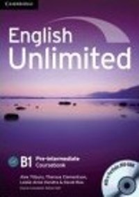 English Unlimited B1 Pre-intermediate Coursebook