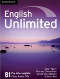 English Unlimited B1 Pre-intermediate Class Audio CDs