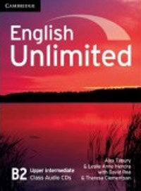 English Unlimited B2 Upper-intermediate Class Audio CDs