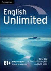 English Unlimited B1+ Intermediate Class Audio CDs