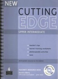 New Cutting Edge Upper-intermediate Teacher's Resourse Book + Test Master CD-ROM