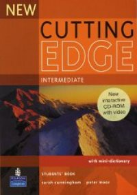 New Cutting Edge Intermediate Student's Book + mini-dictionary + CD-ROM with video