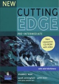 New Cutting Edge Pre-intermediate Student's Book + mini-dictionary + CD-ROM with video