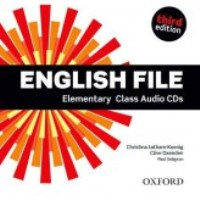 ENGLISH FILE ELEMENTARY 3E CLASS CD