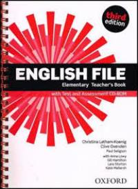 ENGLISH FILE ELEMENTARY 3E Teacher's Book+TEST+CD-ROM PACK