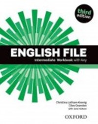 ENGLISH FILE INTERMEDIATE 3E Workbook W/Key