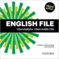 ENGLISH FILE INTERMEDIATE 3E CLASS CD