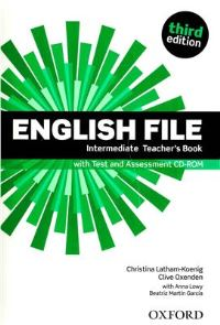 ENGLISH FILE INTERMEDIATE 3E Teacher's Book+TEST+CD-ROM PACK