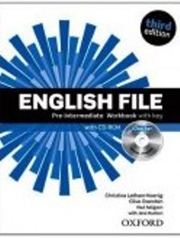 ENGLISH FILE PRE-INTERMEDIATE 3E Workbook W/Key + ICHECKER PACK