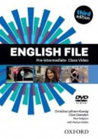 ENGLISH FILE PRE-INTERMEDIATE 3E DVD