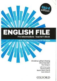 ENGLISH FILE PRE-INTERMEDIATE 3E Teacher's Book+TEST+CD-ROM PACK