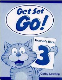 Get Set Go! 3 Teacher's Book