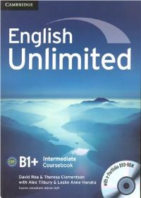English Unlimited B1+ Intermediate Coursebook