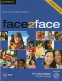 Face2Face 2ED Pre-intermediate  Student's Book + DVD-Rom