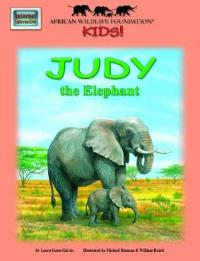 African Wildlife Foundation Story Judy the Elephant с аудиодиском