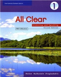 All Clear 1 Listening and Speaking with Collocations