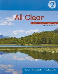 All Clear 2 Listening and Speaking with Collocations
