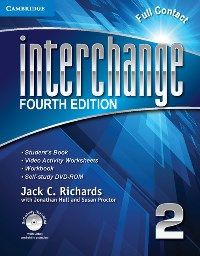 Interchange 4th Edition 2 SB +DVD