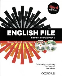 ENGLISH FILE ELEMENTARY 3E MultiPack B Student's Book B + Workbook B + ITUTOR PACK