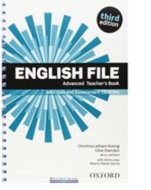 ENGLISH FILE ADVANCED 3E Teacher's Book+TEST+CD-ROM PACK
