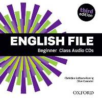 ENGLISH FILE BEGINNER 3E CLASS CD