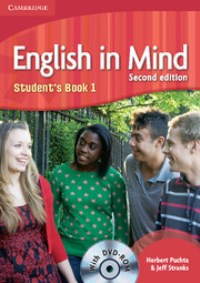 English in Mind Second Edition Student's Book 1 with DVD-ROM