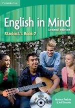 English in Mind Second Edition Student's Book 2 with DVD-ROM