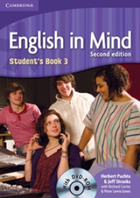 English in Mind Second Edition Student's Book 3 with DVD-ROM