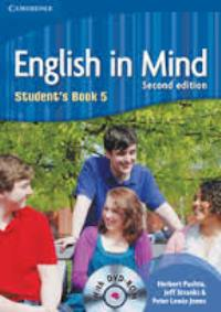 English in Mind Second Edition Student's Book 5 with DVD-ROM