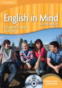 English in Mind Second Edition Student's Book Starter with DVD-ROM