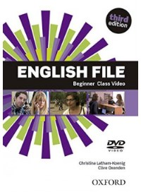 ENGLISH FILE BEGINNER 3E DVD