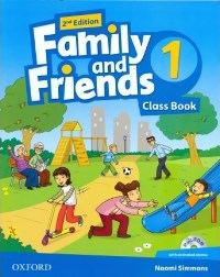 Family and Friends 2nd ED Class Book and Multi-ROM Pack 1
