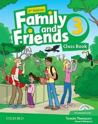 Family and Friends 2nd ED Class Book and Multi-ROM Pack 3