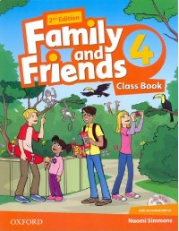 Family and Friends 2nd ED Class Book and Multi-ROM Pack 4