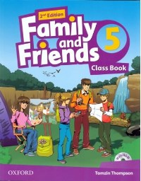 Family and Friends 2nd ED Class Book and Multi-ROM Pack 5