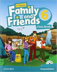Family and Friends 2nd ED Class Book and Multi-ROM Pack 6