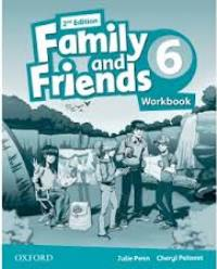Family and Friends 2nd ED Workbook 6